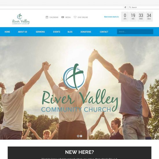 River Valley Community Church Website